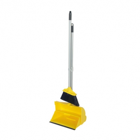 Lobby Dustpan And Soft Brush Set Yellow (Sold Singly)