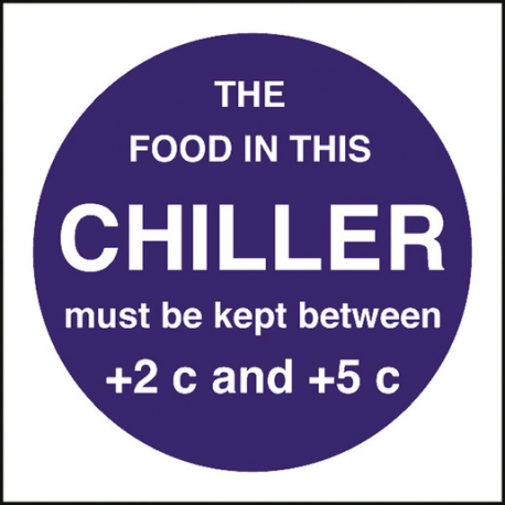 Kitchen Food Safety Food Temperature - Chiller (Sold Singly)