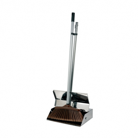 Lobby Dustpan Set Stainless Steel (Sold Singly)