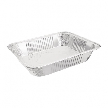 Fiesta Rectangular Foil Containers 1/2 GN (Pack of 5)