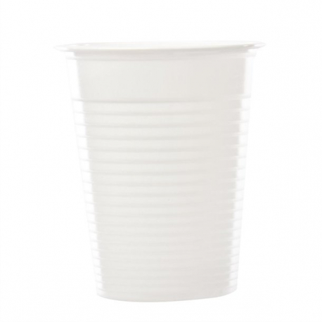 White Polypropylene Disposable Cups 200ml / 7oz (Pack of 2000)