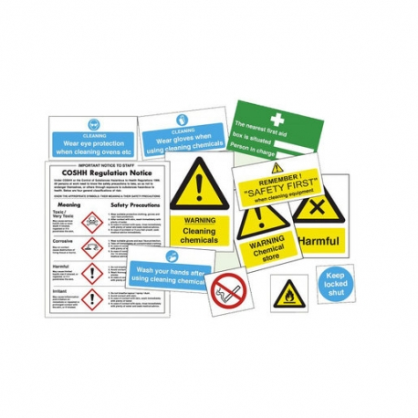 Catering Safety Pack Chemicals (Sold Singly)