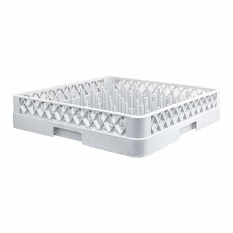 Plate Rack 500 x 500mm Grey Plastic (Sold Singly)