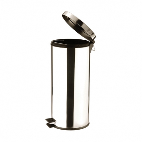 Pedal Bin Stainless Steel 30ltr (Sold Singly)
