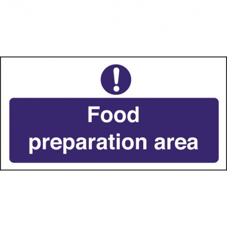 Kitchen Food Safety Food Preparation Area (Sold Singly)