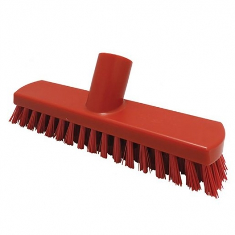 215mm Deck Scrub Red (Sold Singly)