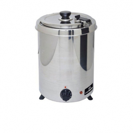 Chefmaster 6Ltr Soup Kettle - Stainless Steel (Sold Singly)