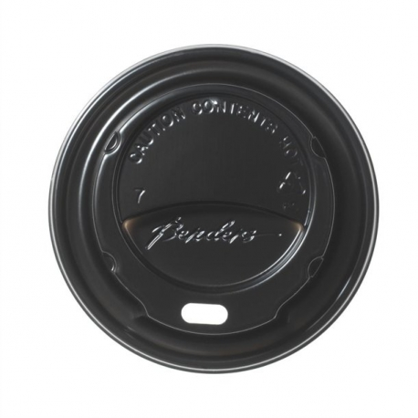 Black Domed Lids For Benders 225ml Disposable Super Insulated (Pack of 1000)