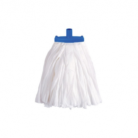 Prairie Big White Kentucky Mop Head Blue (Sold Singly)