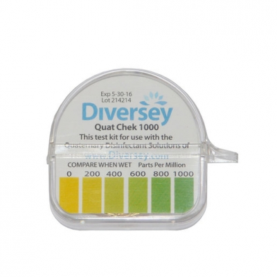 Hydrion Quat Chek 0-1000ppm 1pc (Sold Singly)
