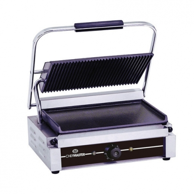 Chefmaster Large (Panini) Single Contact Grill 2.2kw