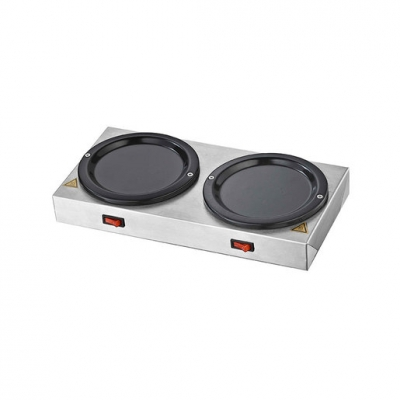 Chefmaster Twin Coffee Jug Hotplates (Sold Singly)