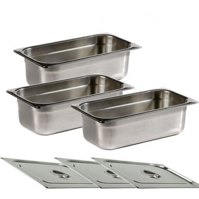 Chefmaster Gastronorm Containers For Bain Marie (Sold Singly)