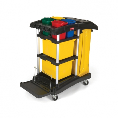 Rubbermaid Cleaning Cart (Sold Singly)
