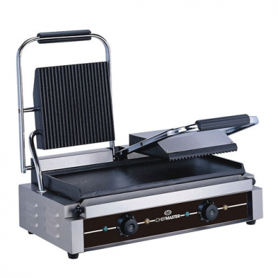 Chefmaster Double Contact Grill - Flat
