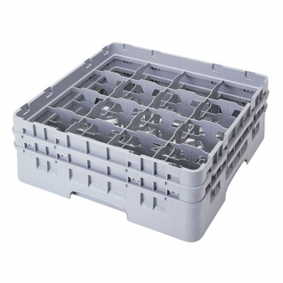 Cambro Camrack Glass Rack 16 Compartments Green (Sold Singly)