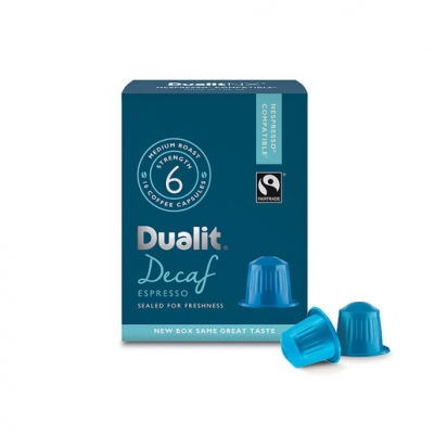 Dualit NX Nespresso Compatible Capsules - Decaf