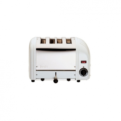 Dualit 40355 4 Slot Vario Toaster - White (Sold Singly)