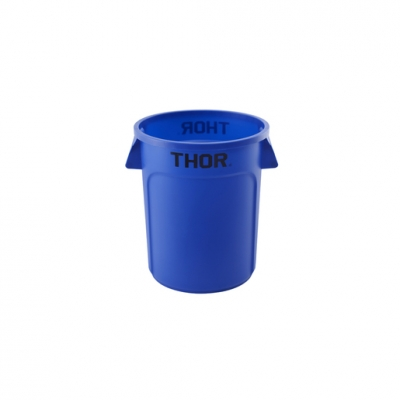 Round All Purpose Bin 75L Blue (Sold Singly)