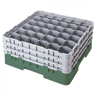 Cambro Camrack Glass Rack 36 Compartments Green (Sold Singly)