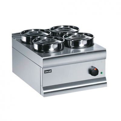 Lincat Silverlink 600 Wet Well Bain Marie 4 Containers