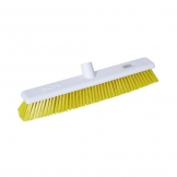 Abbey Hygiene Broom Head Stiff 45cm Yellow (Sold Singly)