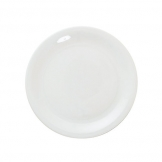 Great White Narrow Rim Plate 9.5 inch 24cm (6 pcs)