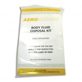 Aerohazard Body Fluid Kit 1 Application Refill In Polybag (Sold Singly)