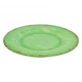 Green Casablanca Melamine Plate 280 x 280 x 20mm (Sold Singly)