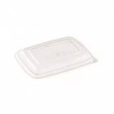 590ml Bagasse Salad Container PET Lid 300 Per Case