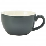 Royal Genware Bowl Shaped Cup 25cl Grey (6 pcs)
