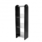 3 Tier Condiment Stand Acrylic Black (Sold Singly)