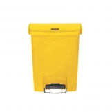 Slim Step-On Bin Front Step 30 ltr Yellow (Sold Singly)