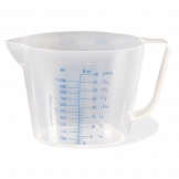 Measuring Jug Polypropylene 1ltr (Sold Singly)