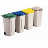 Wheelie Bin Beige 100ltr (Sold Singly)