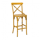 Cafe Bar Stool - Yellow