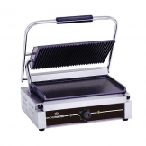 Chefmaster Large Single Contact Grill - Ribbed/Flat (Sold Singly)