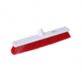 Abbey Hygiene Broom Head Stiff 45cm Red (Sold Singly)