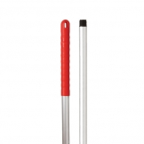 Abbey Hygiene Handle - Red Grip 125cm 48 inch (Sold Singly)
