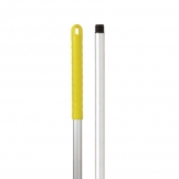 Abbey Hygiene Handle - Yellow Grip 125cm 48 inch (Sold Singly)