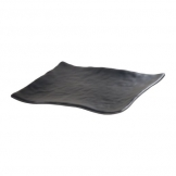 Mirage Martello Black Square Platter 28cm (Sold Singly)