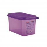 Allergen Airtight Container GN 1/4 x 150mm (Sold Singly)