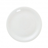 Great White Narrow Rim Plate 10.25 inch 26cm (6 pcs)