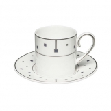 Elia Virtu Fine Bone China Coffee Cup 12cl