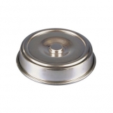 Plate Cover Aluminium Round 20cm (Sold Singly)