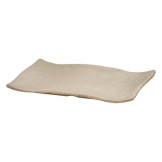 Mirage Martello Sand Rectangle Platter 33 x 23cm (Sold Singly)