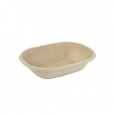 620ml Oval Bagasse Bowl 300 Per Case