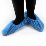 Blue CPE Single Use Hygene Workwear Overshoes (100 pcs)