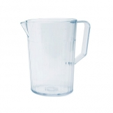 Antibacterial Jug Clear Polycarbonate 1.1ltr (Sold Singly)