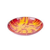 Manoli Speckle 38cm Bowl Red & Yellow Speckle (Sold Singly)